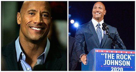 Five reasons why  should be our next president.   #TheRock2020