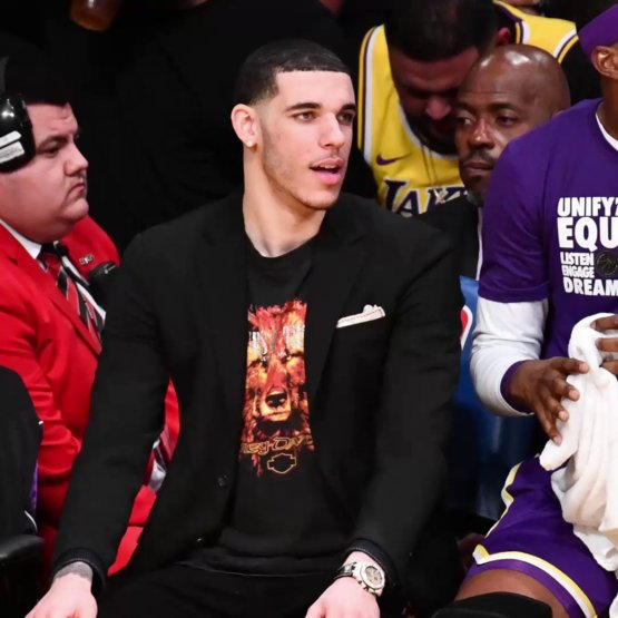 Lonzo Ball just got the COOLEST accessory to go along with his new Pelicans jersey