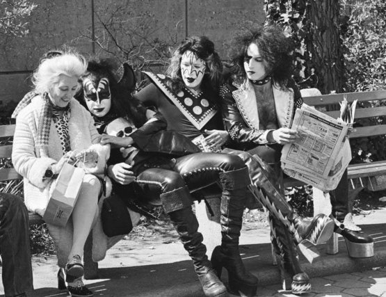 KISS in Central Park, 1974