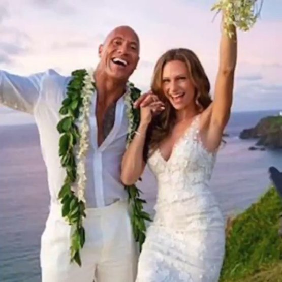 SURPRISE! The Rock just wifed up his longtime girlfriend