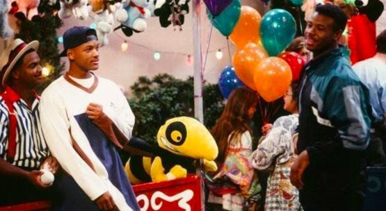 "Ken Griffey Jr. in a 1994 episode of ""The Fresh Prince of Bel-Air."""