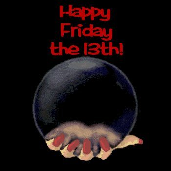 WOAHH it's Friday the 13th!