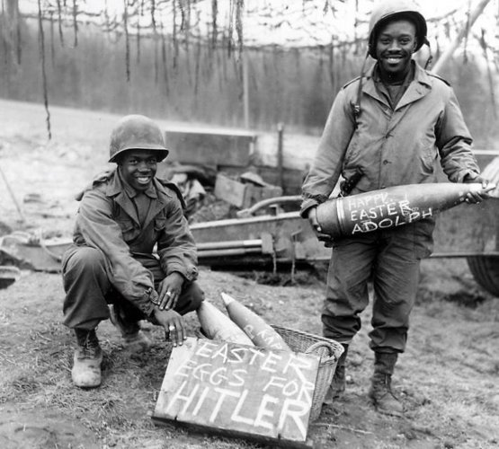 Easter eggs for Hitler, 1945
