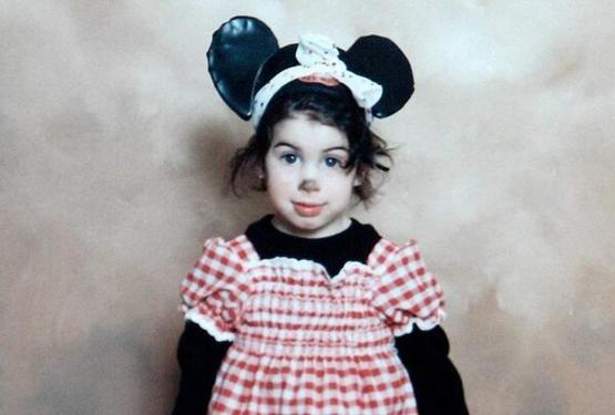 Young Amy Winehouse.