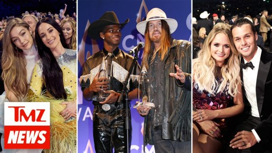 Some very unexpected celebs turned up at the CMAs!