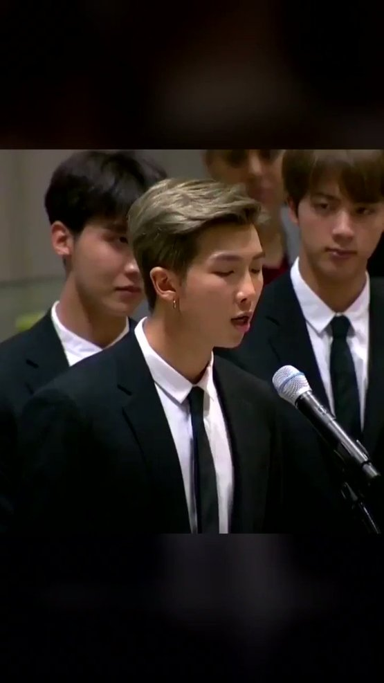 #WednesdayWisdom throwback to #BTS's inspirational message to love yourself  #UNICEF