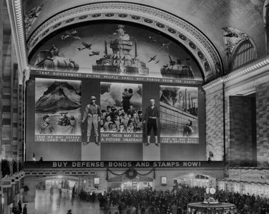 Grand Central during World War II