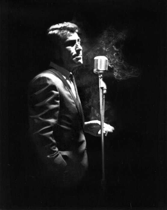 Rod Serling narrating The Twilight Zone, circa 1964.
