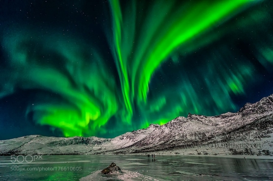 Greenfire Sky by Dionys Moser