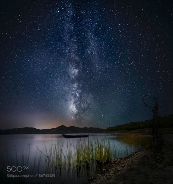 The Lake and Light by panagiotis laoudikos