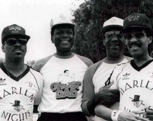 Eddie Murphy, Sidney-Poitier, Bill Cosby and Richard Pryor