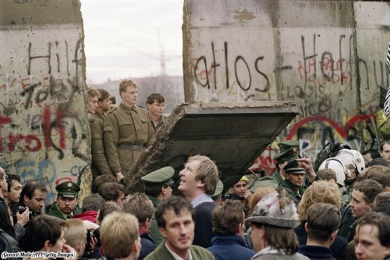 30 years ago, the whole world celebrated the falling of the Berlin Wall.