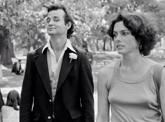 Bill Murray at Elvis's funeral, 1977.
