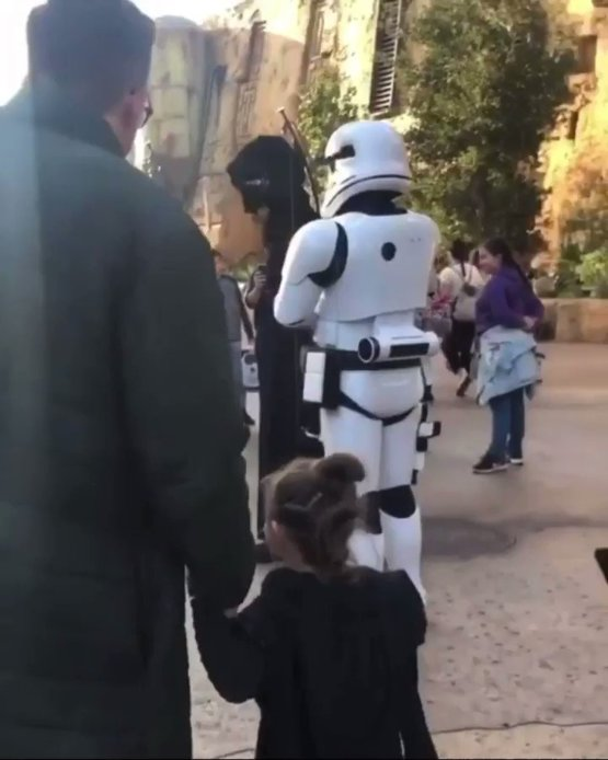 The force is strong with this video. We can't get over how cute it is  (: )