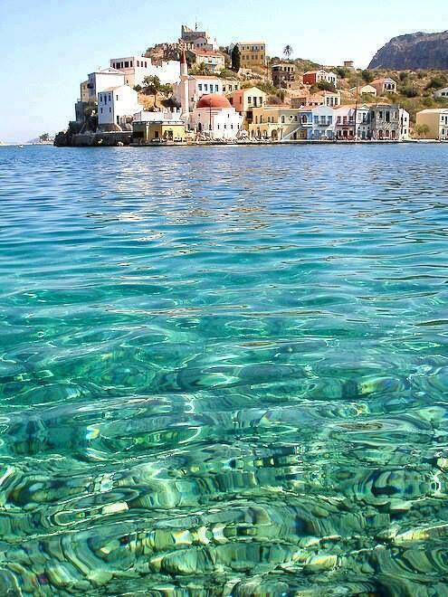 """"""" Clear Waters of Greece  as the ocean Beautiful is my love......"""