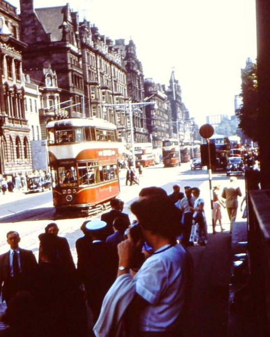 Edinburgh, Scotland in the 1950s