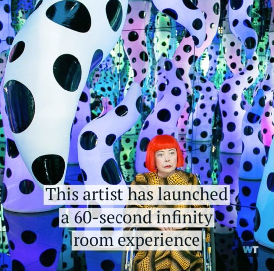 Would you like to visit an infinity mirror #YayoiKusama