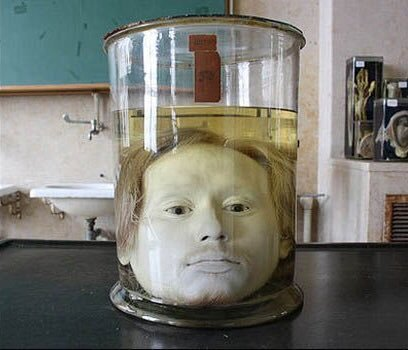 The Serial Killer's 175-Year-Old Head In A Jar