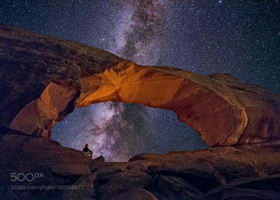 Contemplation #photo by  #milkyway #landscape #photography