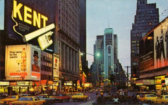 Times Square, 1972.