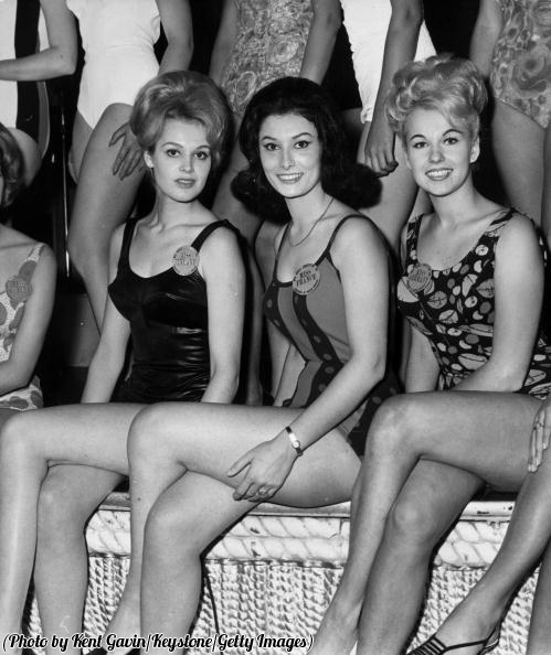 Miss Finland, Miss France and Miss Germany, 1963.