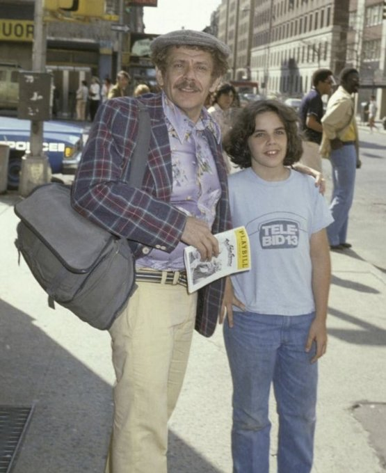 Jerry Stiller- takes his son Ben Stiller to a play (1978)