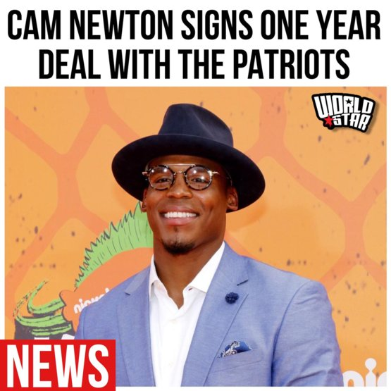 According to reports. Cam Newton signed to the New England Patriots for one season...thoughts Via