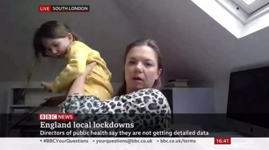 A Child Crashed Her Mom's Interview On The BBC and It Is Beyond Adorable  :