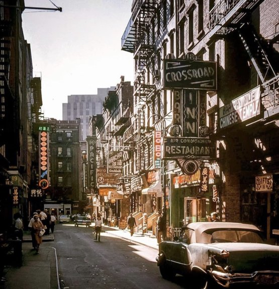 China town, New York 1962