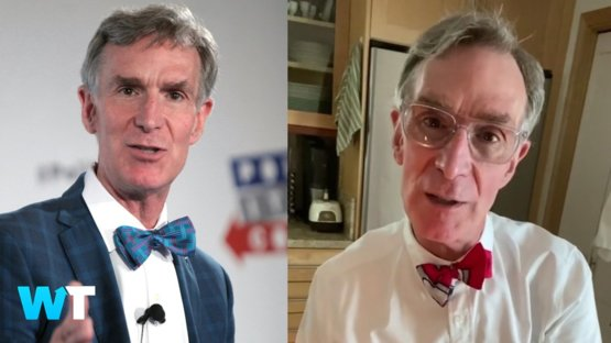 Bill Nye the Science Guy made a Tik Tok! Make sure you wear a mask!