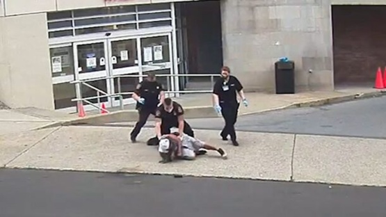 D.A. Investigating After P.A. Cop Put Knee On Man's Neck, New Video via