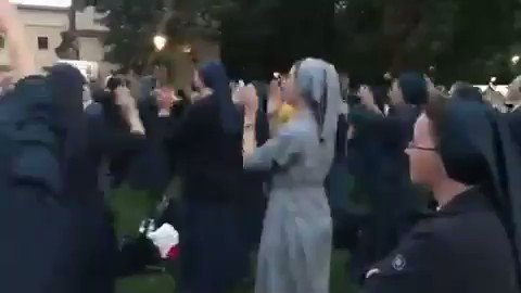 These nuns dancing to  #toxic is getting us in the #MondayMood #MondayMotivation