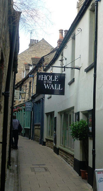 Hole in the Wall, 4 Cheyne Lane, Stamford, Lincolnshire