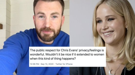 You can marvel at Chris, but it's time to admire equality on the internet.