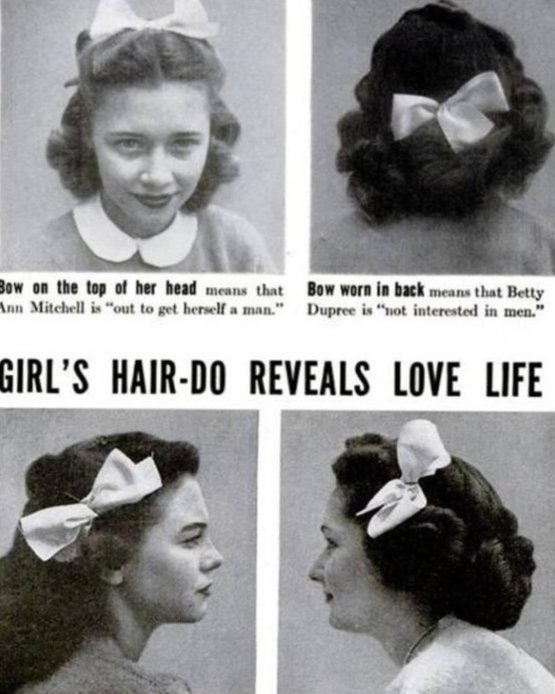 Hair-do Reveals Love Life, 1944