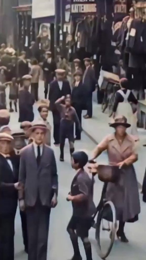 Let's take you back to Amsterdam in 1922