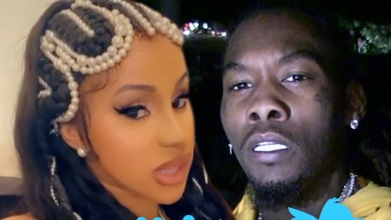 Cardi B Deactivates Twitter Due to Offset Backlash, Says She's Not Ariana Grande via