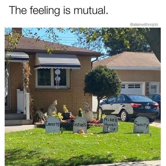 Not sure whether to laugh or cry at these decorations  (: Instagram/  )
