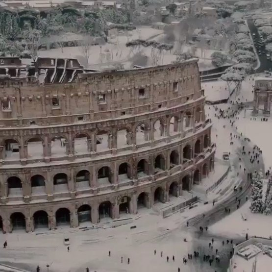 Breathtaking video of Rome, Italy