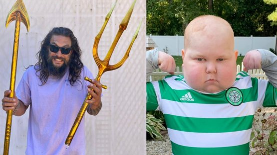Jason Momoa is 1 of 1 for calling this young Aquaman fan