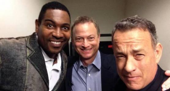 Forrest Gump, Lieutenant Dan and Bubba reunited!