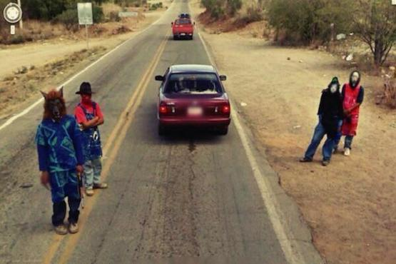 15 crazy things found on Google maps... Thats scary.