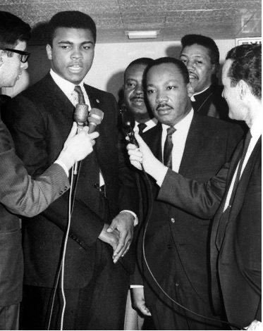 Muhammad Ali and Martin Luther King Jr, 1967