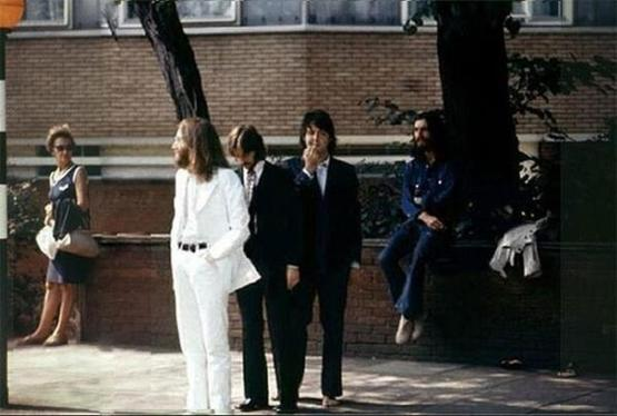 The Beatles waiting to make history in 1969