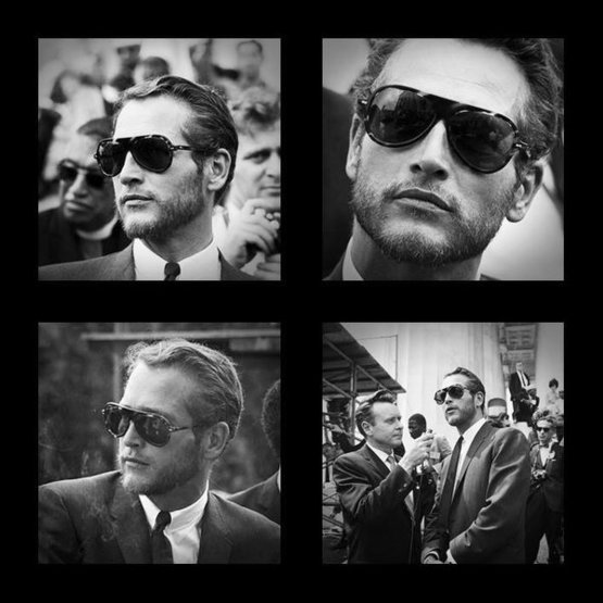 Paul Newman at the 1963 Civil Rights March on Washington.