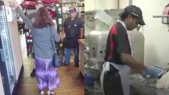 This viral video has people wondering what really happened at this Pizza Hut.