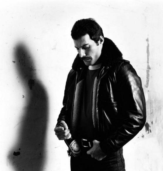 Freddie Mercury, 1980. Photograph by Peter Hince.
