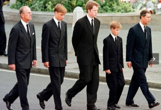 """Why is it """"sad"""" They didn't walk together at their mom's funeral either."""