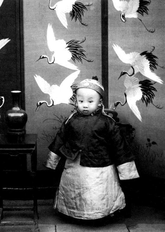"""In 1908, Child Emperor Pu Yi, """"The Last Emperor"""", ascended the Chinese throne at the age of three."""