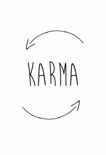Someone should expect a visit from the Karma Fairy.